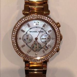 MICHAEL KORS • ROSE GOLD • AUTHENTIC WATCH